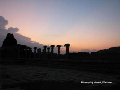Hampi the World famous tourist destination of Karnataka