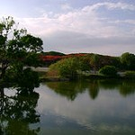 """""""View of lake in lal bagh"""""""