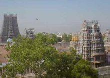 Meenakshi temple in Madurai, Tamilnadu