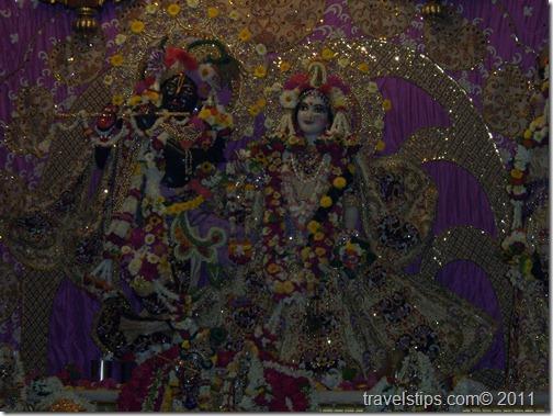 Lord Krisha of Mathura Temple