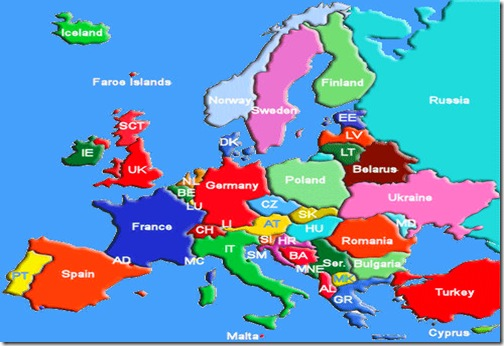 Europe-Trips-Map